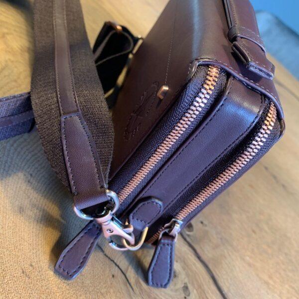 Umhängetasche aus Leder für Damen