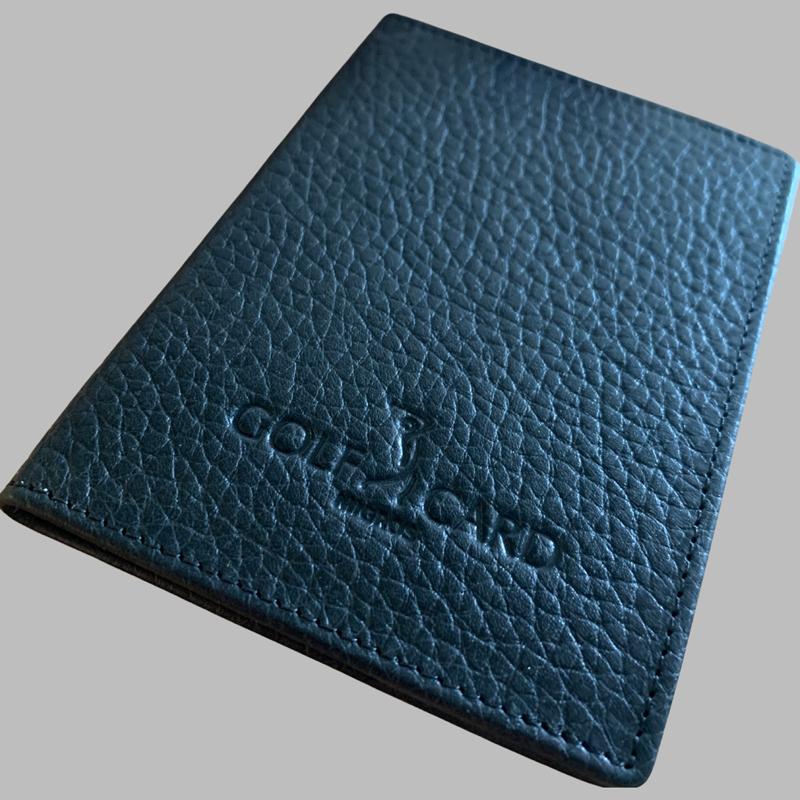 Individuelle Lederanfertigung: Golfcard