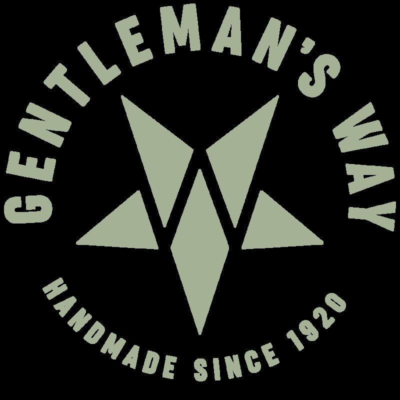 Logo The Gentleman's Way by Design in Leder