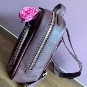 Rucksack für Damen in Leder
